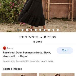 Doen Peninsula dress size xs loose fit